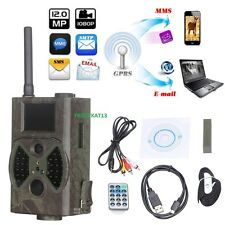 HD HIDDEN CAM MMS GPRS Scouting Infrared Trail Hunting Camera GSM spy Night IR