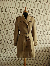 Women MARC CAIN mantel trench coat jacket jacke size N2