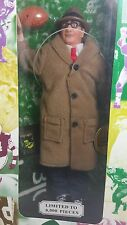 """1998 Vince Lombardi Unopened 9"""" Fully Poseable Action Figure Doll - 1 of 8000"""