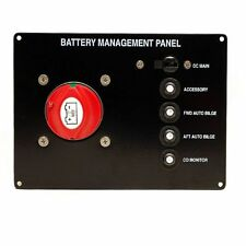 BEP BATTERY MANAGEMENT BOAT SWITCH BREAKER PANEL