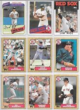 Large Lot of Over 400 Different Boston Red Sox with Sheets and Binder!!!!