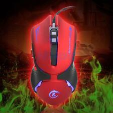 3200 DPI 7color LED Optical USB Gaming Wired Mouse Mice For PC Laptop Pro Gamers