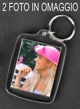 Portachiavi con ciondolo portafoto + 2 foto in omaggio - Keychain, keychains