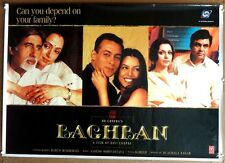 "India Bollywood 2002 Baghban 27.5""x39.5"" poster Amitabh Hema Salman"