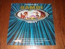 Walt Disney's Bambi Story Lp & Illustrated Booklet Record b1 Disneyland 3903