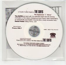 (GG640) The Sufis, No Expression / Alone - 2013 DJ CD