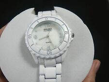 Golden Classic Women's 2187-white Seafaring Daydream Mother Of Pearl Tachymeter