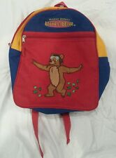 MAURICE SENDAK LITTLE BEAR ~ BACKPACK red / Blue / yellow