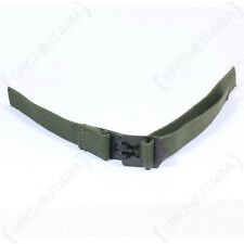 Original M1 Helmet Infantry CHIN STRAP Green Web WW2 M-1 Canvas Webbing Unissued