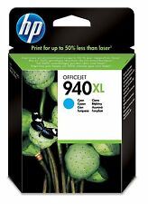 Genuine HP 940XL Cyan Ink Cartridge C4907AE for OfficeJet Pro 8500 8000 8500A
