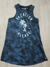 Abercrombie & Fitch DRESS T shirt TANK Top NWT Sze 3 4 years Blue tree design