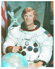 Rusty SCHWEICKART Signed Autograph Photo COA AFTAL NASA Apollo Space Astronaut