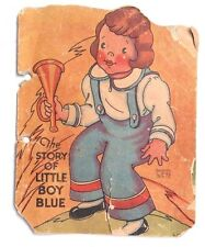 Vintage 1942 The Story Of Little Boy Blue Mini Story Booklet (Samuel Lowe Co.)