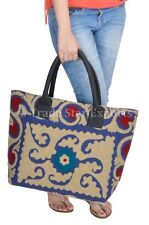 Indian Suzani Hand Bag Women Large Shoulder Bags Embroidered Boho Bags Purses