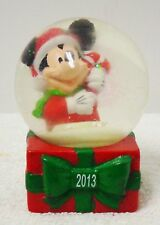 Disney Mickey Mouse Snow Globe 2013 (JCPenney) new in box