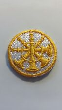 Firefighter CHIEF 4 Bugles collar patch