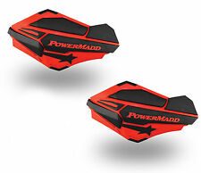 PowerMadd Sentinel Series Replacement ATV Handguards Hand Guards Red Black 34402
