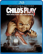 Child's Play [Collector's Edition] [Blu-ray], Very Good DVD, Chris Sarandon, Cat