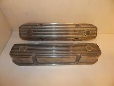 NOS MICKEY THOMPSON FINNED VALVE COVERS MOPAR 383 400 440