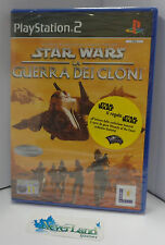 Game SONY Playstation 2 PS2 PAL ITALIANO Nuovo - STAR WARS LA GUERRA DEI CLONI -