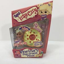 Bratz Itsy City Vinessa's Pop-Eronni Pizza Bobble Head itsy Bitsy Tiny Girls NIB