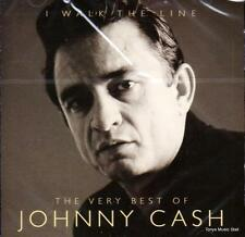JOHNNY CASH -  I WALK THE LINE -  THE VERY BEST OF (NEW SEALED CD)