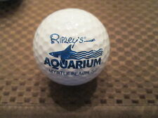 LOGO GOLF BALL-RIPLEY'S AQUARIUM.....MYRTLE BEACH, SC.........