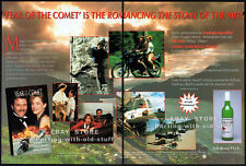 YEAR OF THE COMET__Orig. 1992 Trade AD movie promo__PENELOPE ANN MILLER_TIM DALY