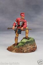 54mm miniature toy soldier Metal Figure,Woodland Indian (Mid.18th Century)