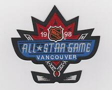 NHL 1998 ALL STAR GAME JERSEY PATCH VANCOUVER CANUCKS