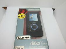 Griffin Disko Case for Sansa e250 e260 e270 e280 Black Polycarbonate Cover