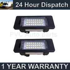 2x Para Bmw X1 E84 X5 E70 X6 E71 24 Led Blanco número Placa De Iluminación Lámparas