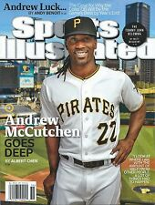 SPORTS ILLUSTRATED 2014 ANDREW McCUTCHEN GOES DEEP PIRATES 9/8/14 No Label