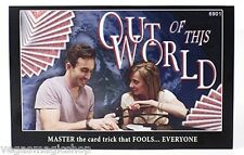 Out of This World Card Magic Trick with Instructional DVD - Will Fool Everyone !