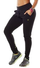 Zumba Stop in Your Tracks Pants Sz L Large Black  NEW with tags