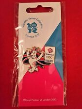 Olympics London 2012 Metal Pride Waving Flag Team GB Pin