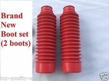 HONDA XR80R XR100R CRF80F CRF100F New  FRONT FORK Boot rubber Gaitor Set