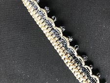 17mm Military Style Braid Trim/Lace/Gimp - 1Metre -  Upholstery/Cushion