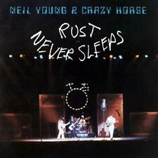 NEIL YOUNG & CRAZY HORSE Rust Never Sleeps CD BRAND NEW