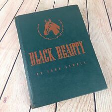 1938 Black Beauty Anna Sewell Antique Hardcover Childrens Illustrated Book Rare