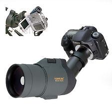 25-75x 1800mm 5500mm Telescope for Canon Rebel 20Da XT Kiss X N 20D 10D Cameras