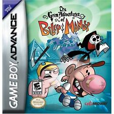 Grim Adventures of Billy and Mandy GBA New Game Boy Advance