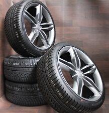 4x NEU für Audi Q5 8R 8R1 17 Zoll Alufelgen Daytonagrau Winterräder 235 65 R17