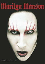 Marilyn Manson Fahne Flagge Face Posterflagge Textilposter 75x110cm poster flag