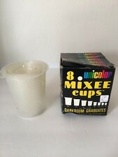 VTG Darkroom Graduates Unicolor 8 Mixed Cups Plastic
