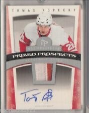 2006-07 Hot Prospects TOMAS KOPECKY Rc Prized Prospects Patch Auto /599