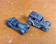 LOT of 2 Cast Iron Car Keychains 1913 Stutz & 1914 Chevrolet MADE IN HONG KONG