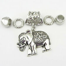Fashion DIY Necklace Jewelry Scarf  Elephant  pendant set Charms @+15