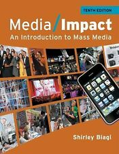 Media Impact : An Introduction to Mass Media by Shirley Biagi (2011, Paperback)