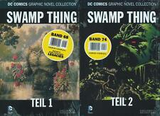 DC cómic Graphic Novel Collection 68 +74 - Swamp Thing parte 1+2 (z0), Eaglemoss